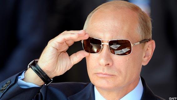 Russian Prime Minister Vladimir Putin ad
